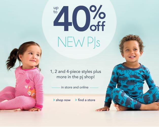 Carter's — распродажа детской одежды от 3.99$