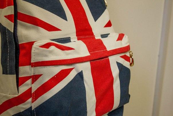 Рюкзак с британским флагом, 800 руб. (отзывы о покупках)