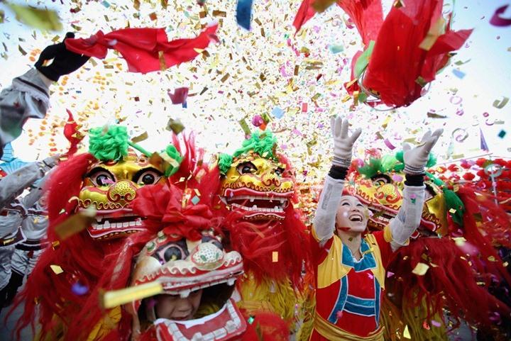 китайский новый год, каникулы в Китае