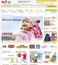 ★myToys, Детские товары интернет магазин, интернет магазин детская одежда, Российские интернет магазины,