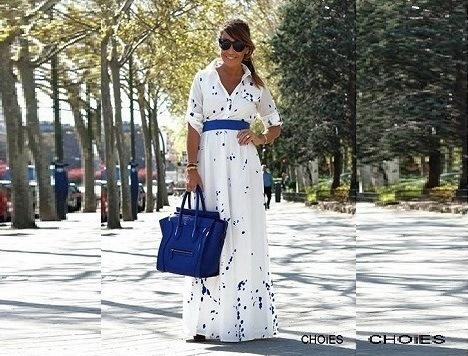 10 летних макси платьев в магазине CHOIES