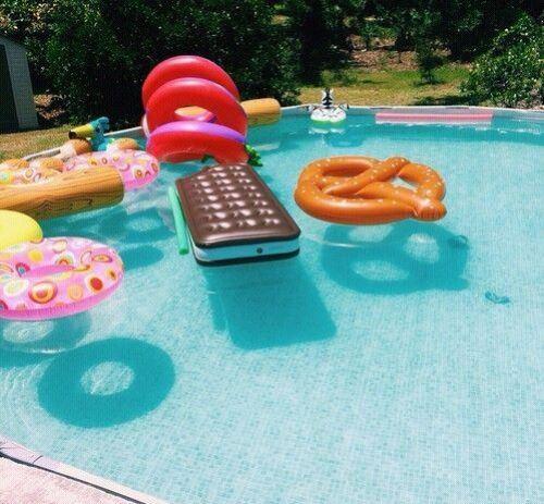 идеи и покупки для улётной вечеринки у бассейна - Pool Party