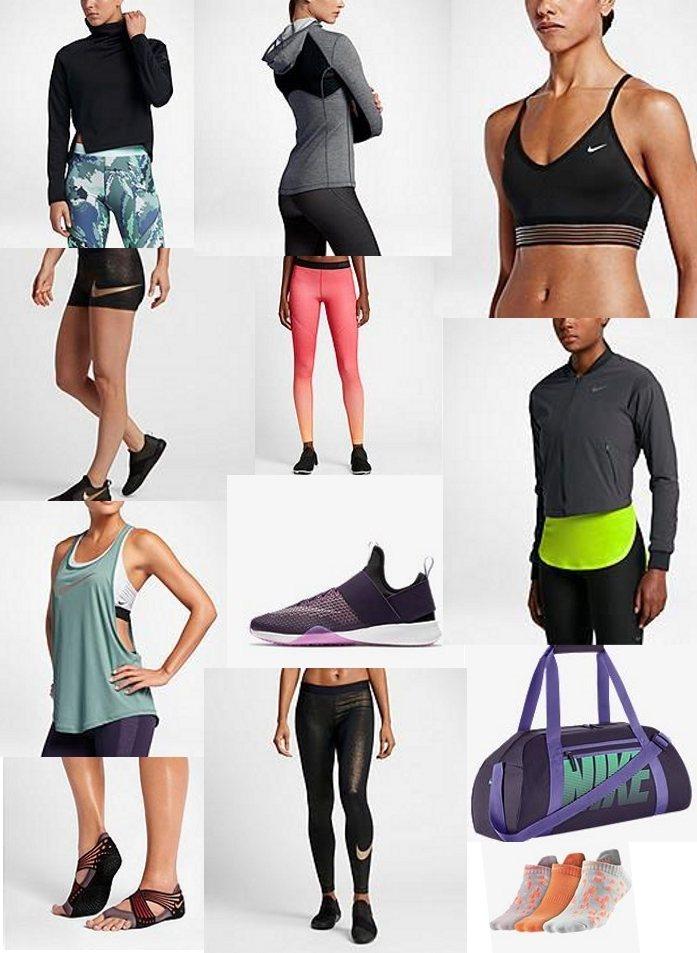 стильный выбор для женского фитнеса в интернет магазине Nike (