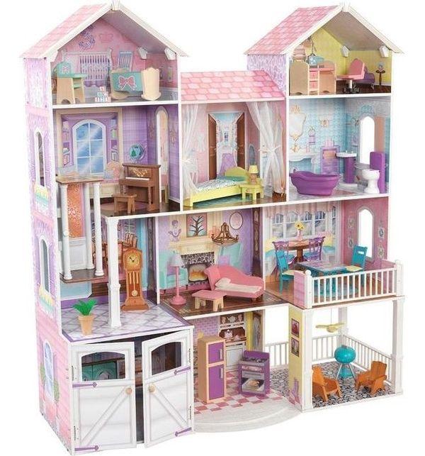 Деревянные кукольные домики в Дочки-Сыночки