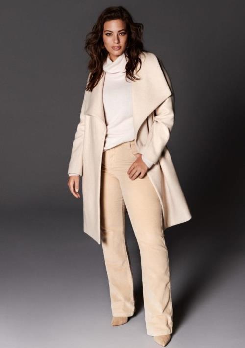 Модный PLUS: Эшли Грэм в коллекции VIOLETA BY MANGO