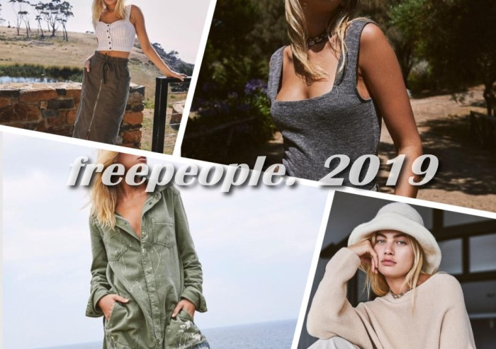 Новая коллекция freepeople. Весна-лето 2019